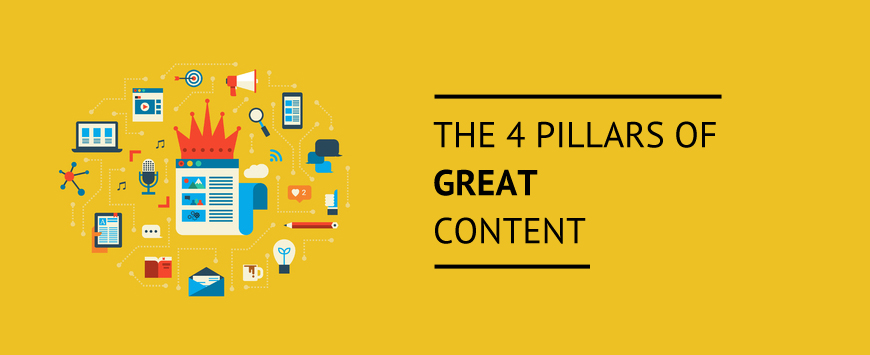 The 4 Pillars of Great Content